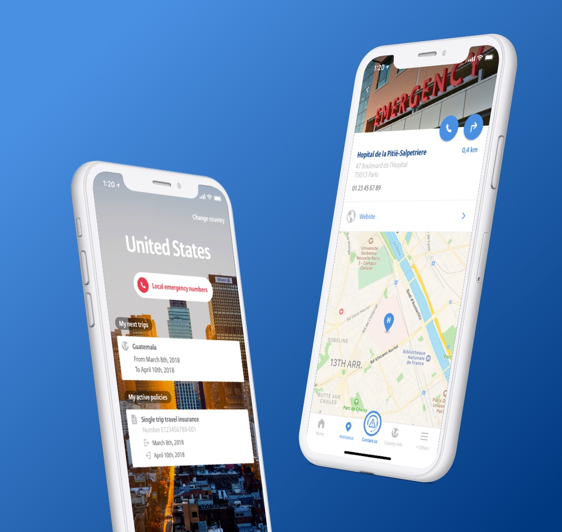 Allianz TravelSmart <span>Design application mobile</span>